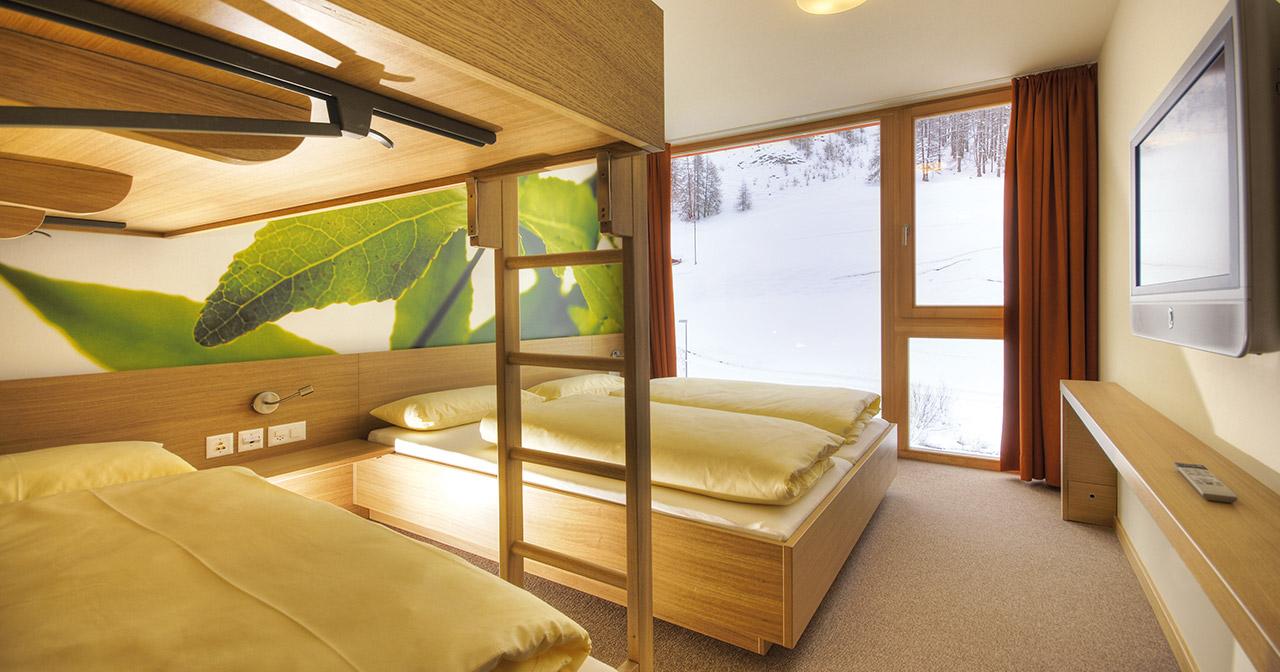 bernachtung in samnaun f r 2 bis 4 personen. Black Bedroom Furniture Sets. Home Design Ideas
